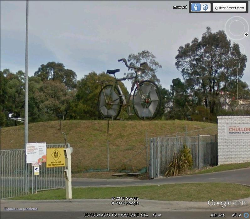Un vélo pour Monty - Chollura - Australie Velo10