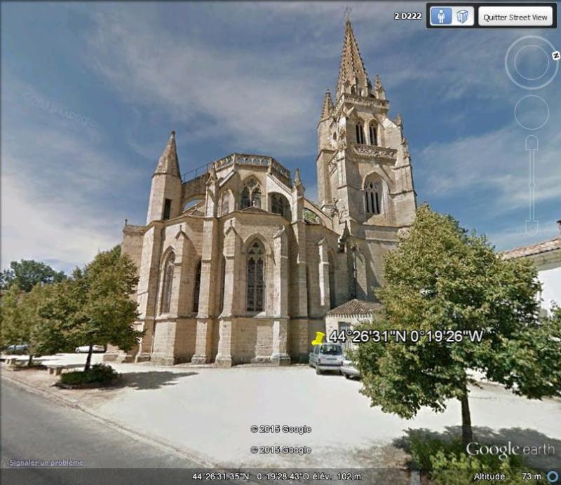 Le tombeau du Pape Clément V - Uzeste - Gironde - France Xxx10