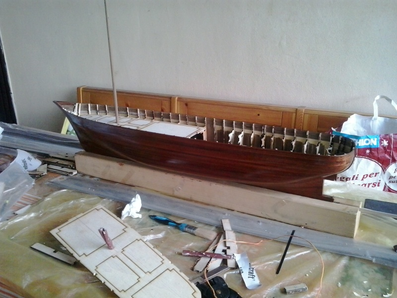 costruzione di goletta, liberamente ispirata a piroscafo cannoniera del XIX secolo - Pagina 3 20150710