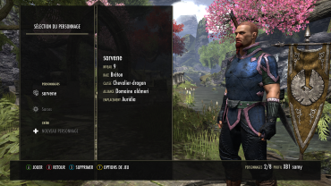 The Elder Scrolls Online : TESO - Nos personnages Teso_110