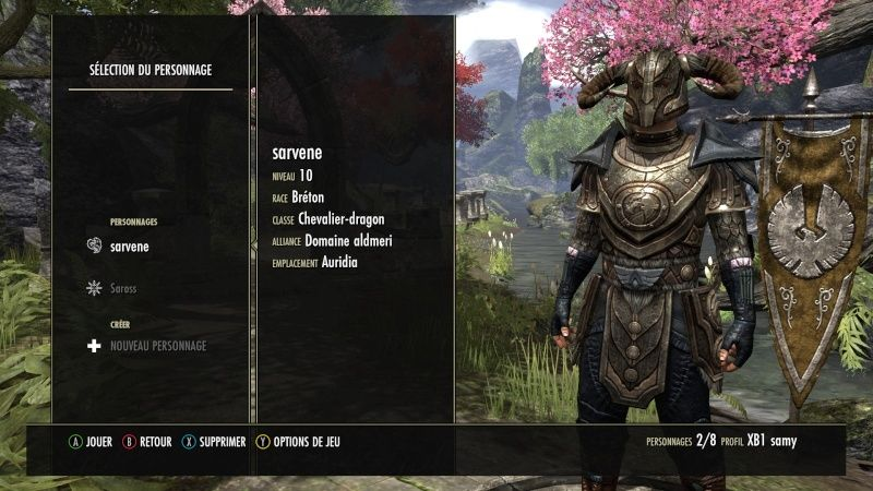 The Elder Scrolls Online : TESO - Nos personnages Teso_910