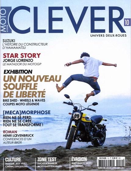 L'histoire de Suzuki est dans Clever.... Clever11