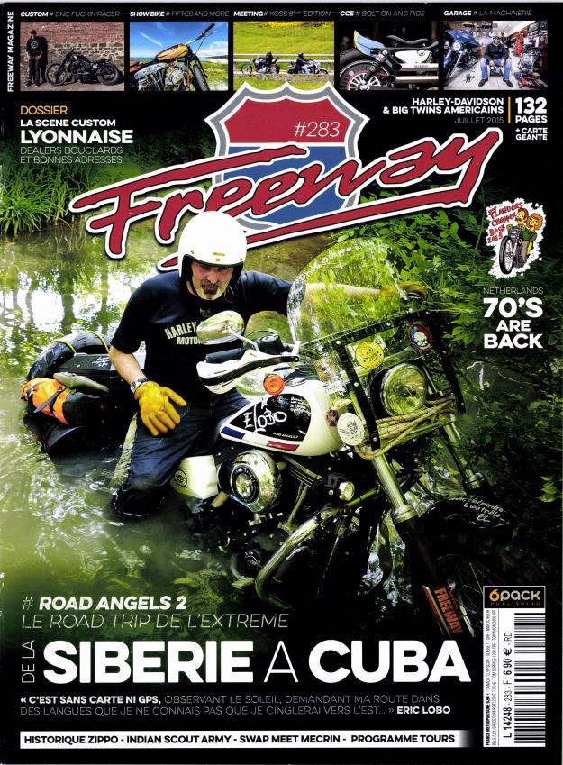 Une Harley qui n'en à rien à foutre des terrasses.... Freway10