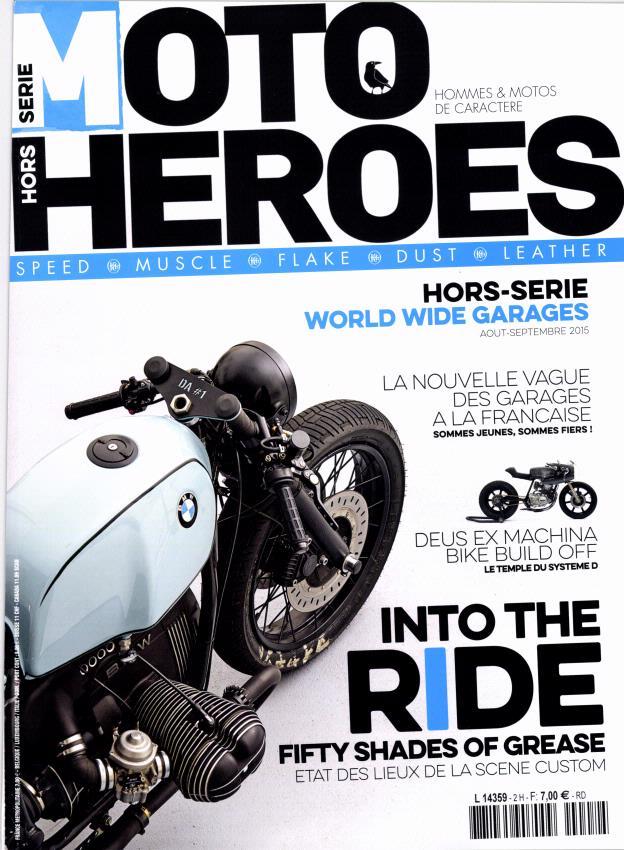 Moto Heroes hors série:Garages des ptits jeunes.... L4359h10