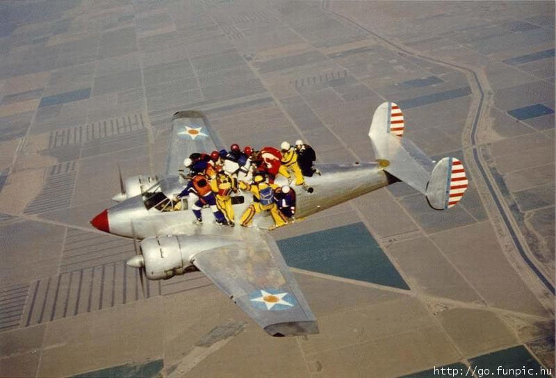 Le parachutisme... 3047912