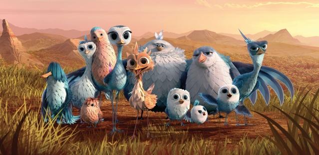 Gus  petit oiseau, grand voyage [2015] [F. Anim.] Affich10