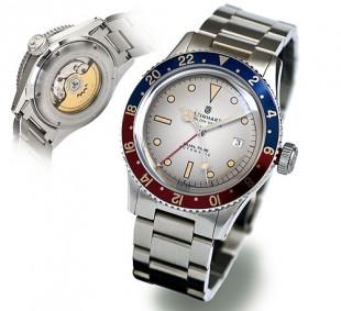 "STEINHART ""OCEAN One Vintage DUAL Time PREMIUM"" 13669210"