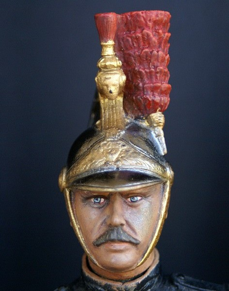 Buste garde republicain a cheval Dsc04015