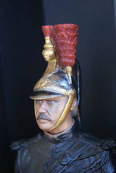 Buste garde republicain a cheval Dsc04016