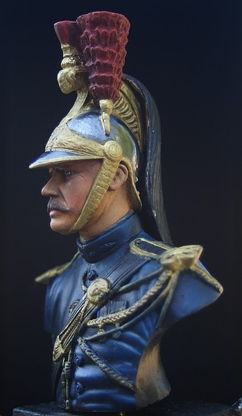 Buste garde republicain a cheval Dsc04020