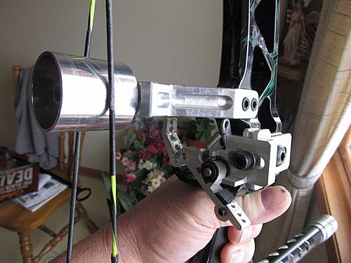 Montage cable shoot thru Sentin10