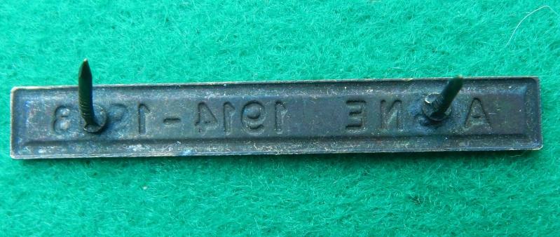 Barrette Aisne 1914-1918 pour médaille des rescapés de l'Aisne Dscn1221