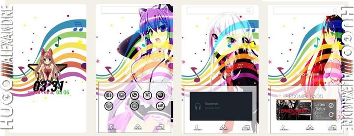Temas para Android (HomePack Buzz) Manga10