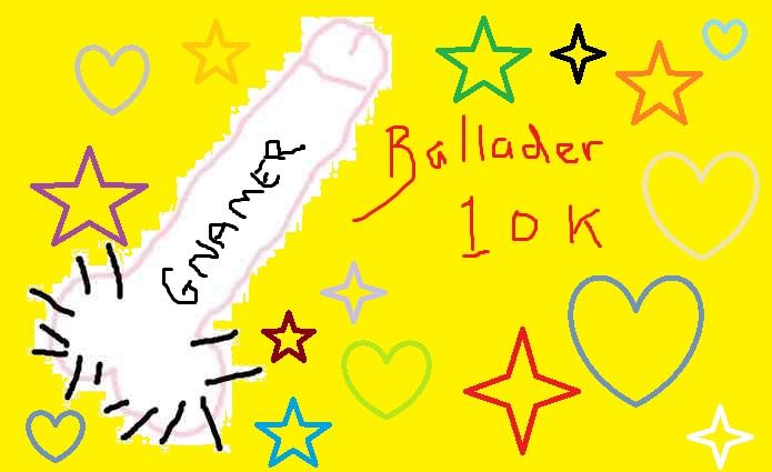 Balladeer's Ten Thousandth Post Balla10