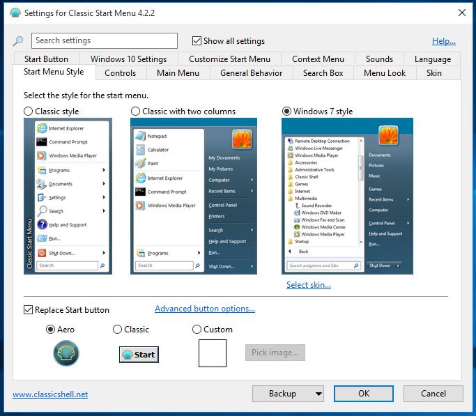 Windows10 - 26 Tools Start10