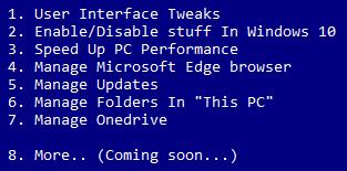 Windows 10 - 14 Tweaks Tweak10