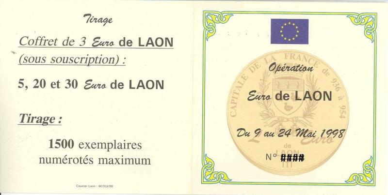 Les Euros et Ecus J.BALME 98-lao12