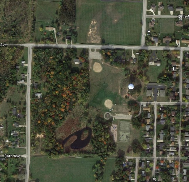Water Tower Park, Menominee MI Park210