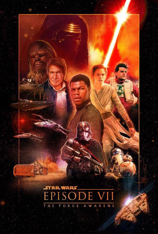 7 - Les posters de Star Wars The Force Awakens - Page 7 11902210