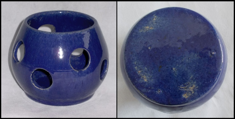 Who made this old cobalt blue orchid pot?  Dscn7123