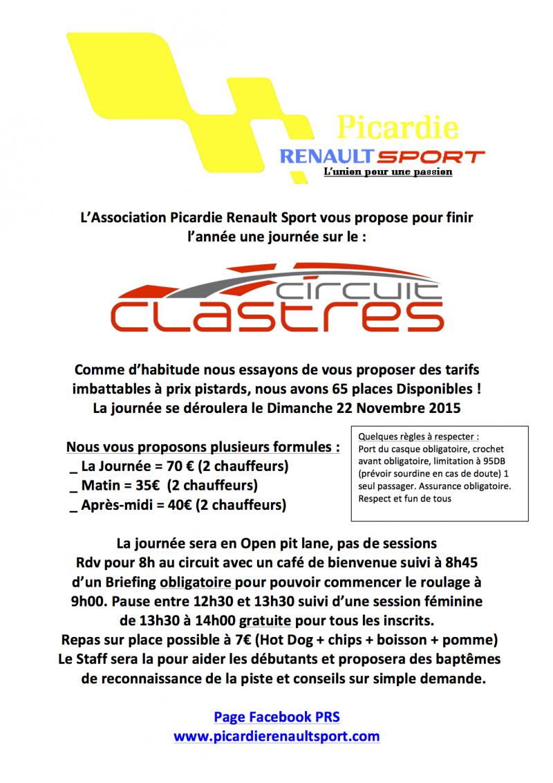 [P.R.S DAY] Circuit Clastres 22 Novembre 2015 [COMPLET] Sortie10