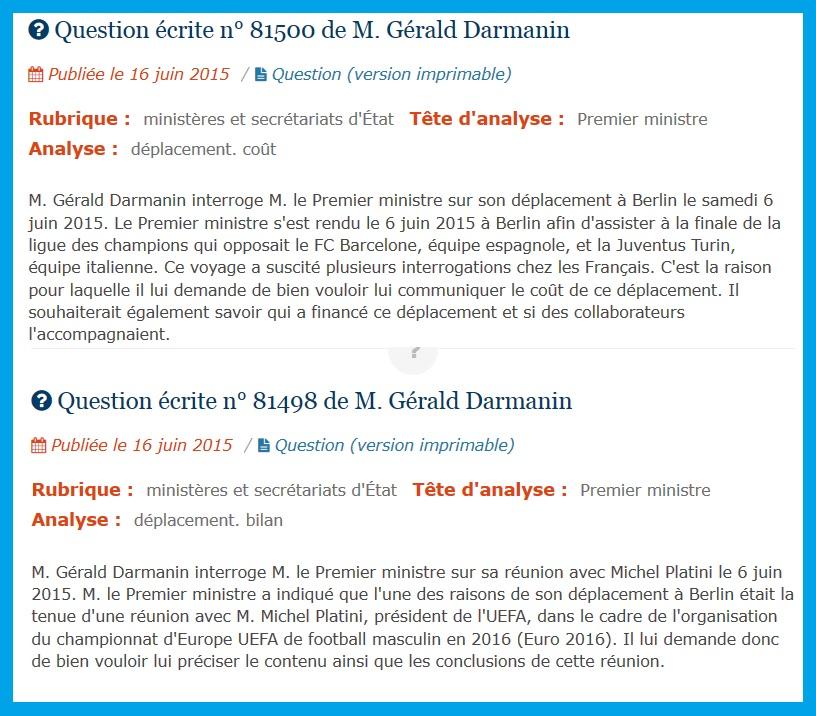 BarçaGate: FIFA Poitiers-Berlin les mensonges de Valls Hollande et Platini Questi10