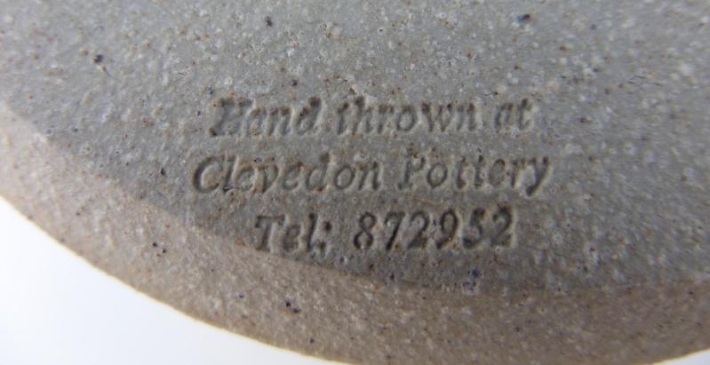 Clevedon Pottery Marksp65