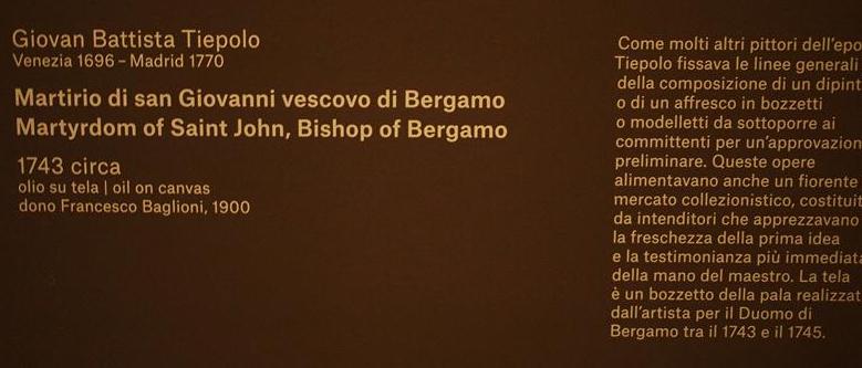 Riapre a Bergamo l'Accademia Carrara P4249417