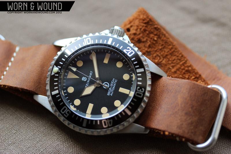 "STEINHART ""OCEAN One Vintage DUAL Time PREMIUM"" Steinh10"