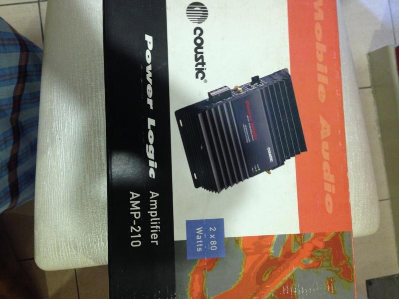 Coustic,Soundstream,Diamond Audio Amplifier 35310