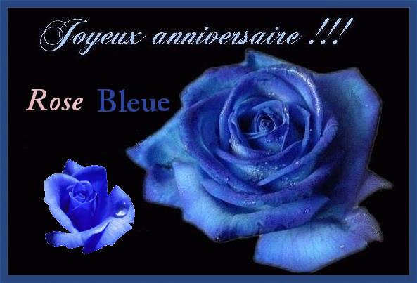 Joyeux anniversaire Rose Bleue 1131010