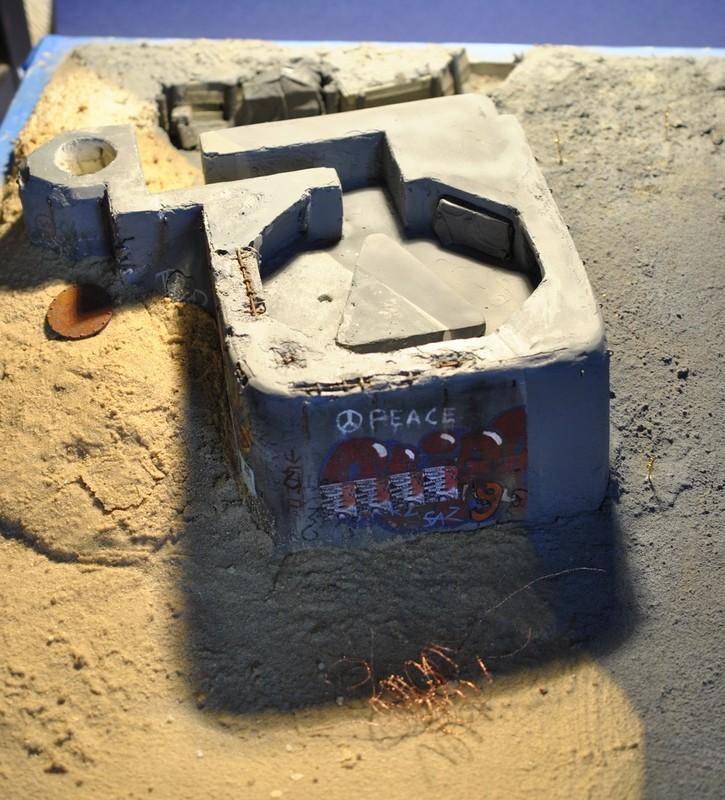 bunker - bunker anti-aérien maison au 1/35 5510