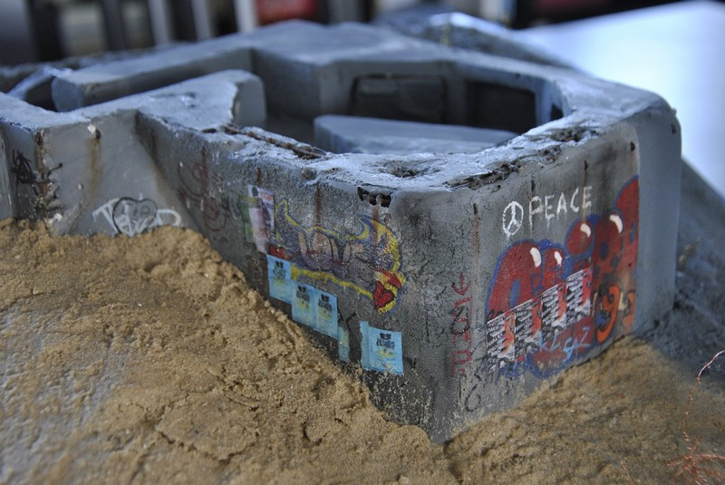 bunker anti-aérien maison au 1/35 6610