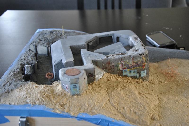 bunker - bunker anti-aérien maison au 1/35 7710