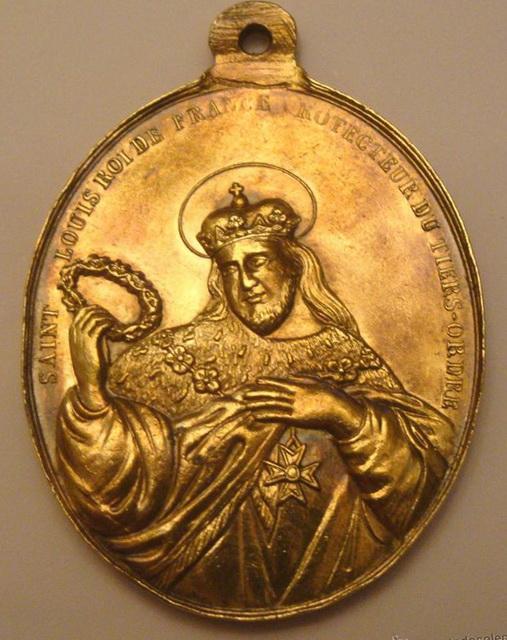 San Louis de Francia - Virgen con Niño, S. XVIII 50053211