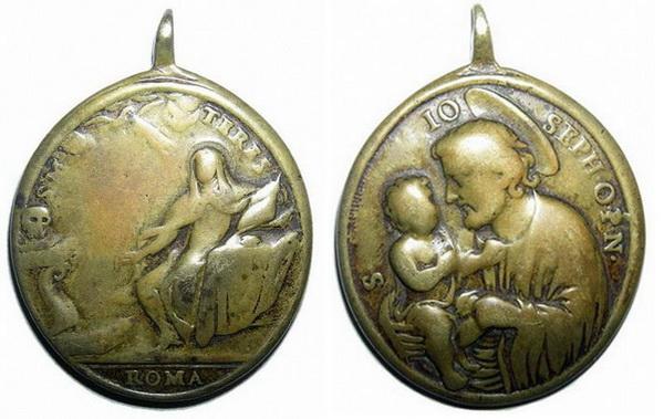 Recopilación medallas Orden Carmelitas Descalzas: Santa Teresa de Jesús Miscru10
