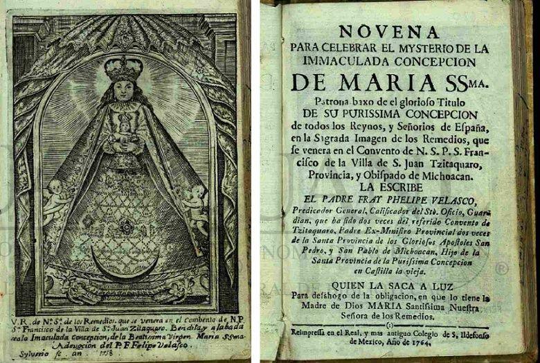Virgen de los Remedios de S. Juan de Zitaquaro / S. Lorenzo (R.M. SXVIII-O280)(MAM) Remedi10