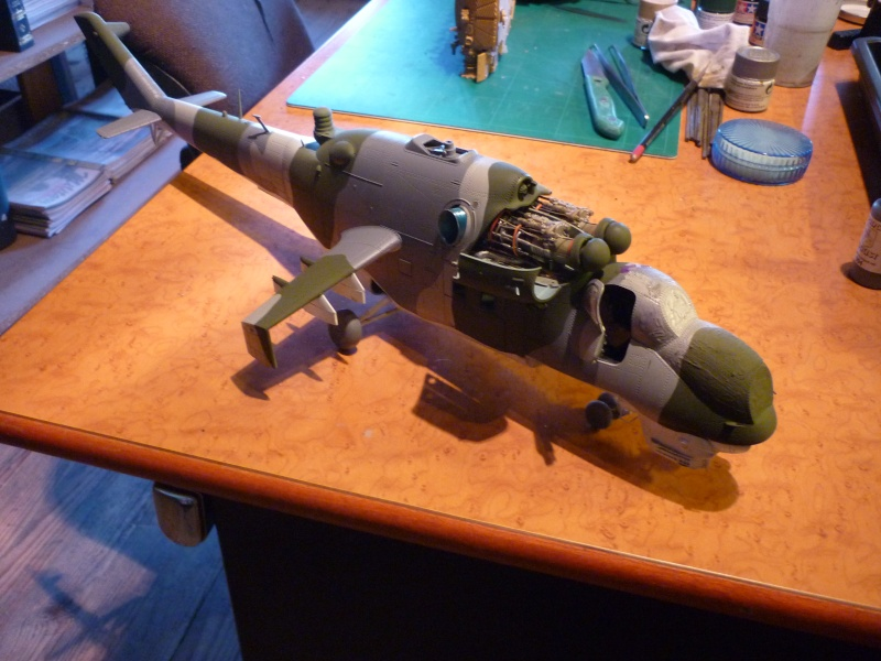 "MIL MI-24V ""HIND"" Trumpeter 1/35 - Page 2 P1020430"