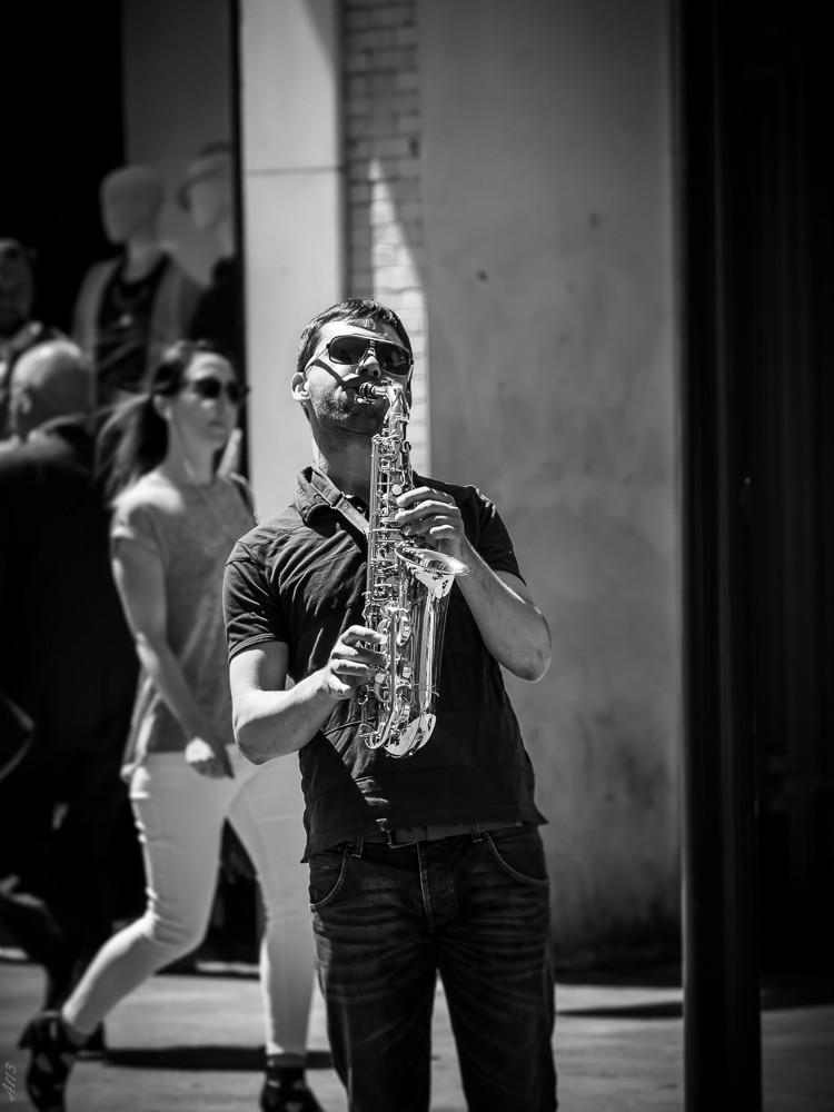 Street Jazz Musico10
