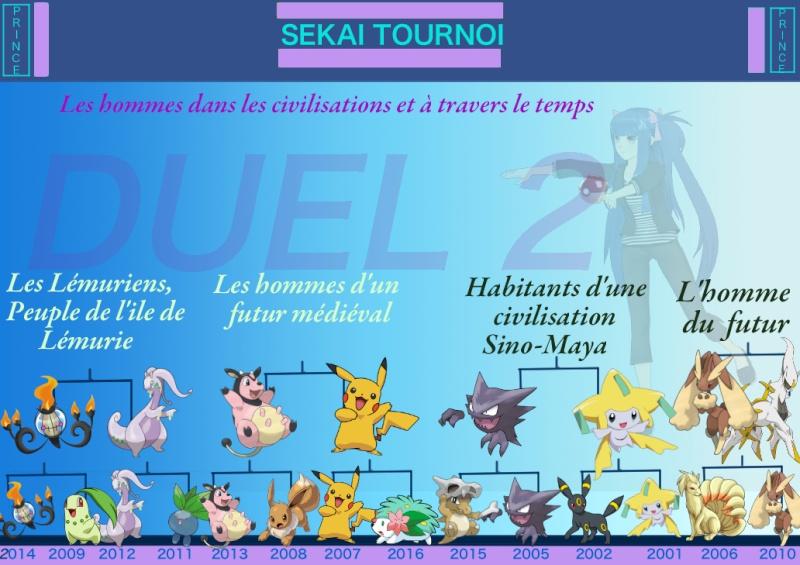 SEKAI TOURNOI - Résultats et thèmes du DUEL 2 Duel_211