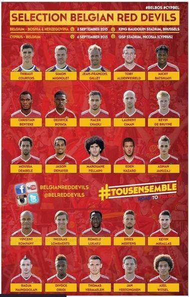 Belgique vs Bosnie-Herzégovine - 03/09/2015 Dr11