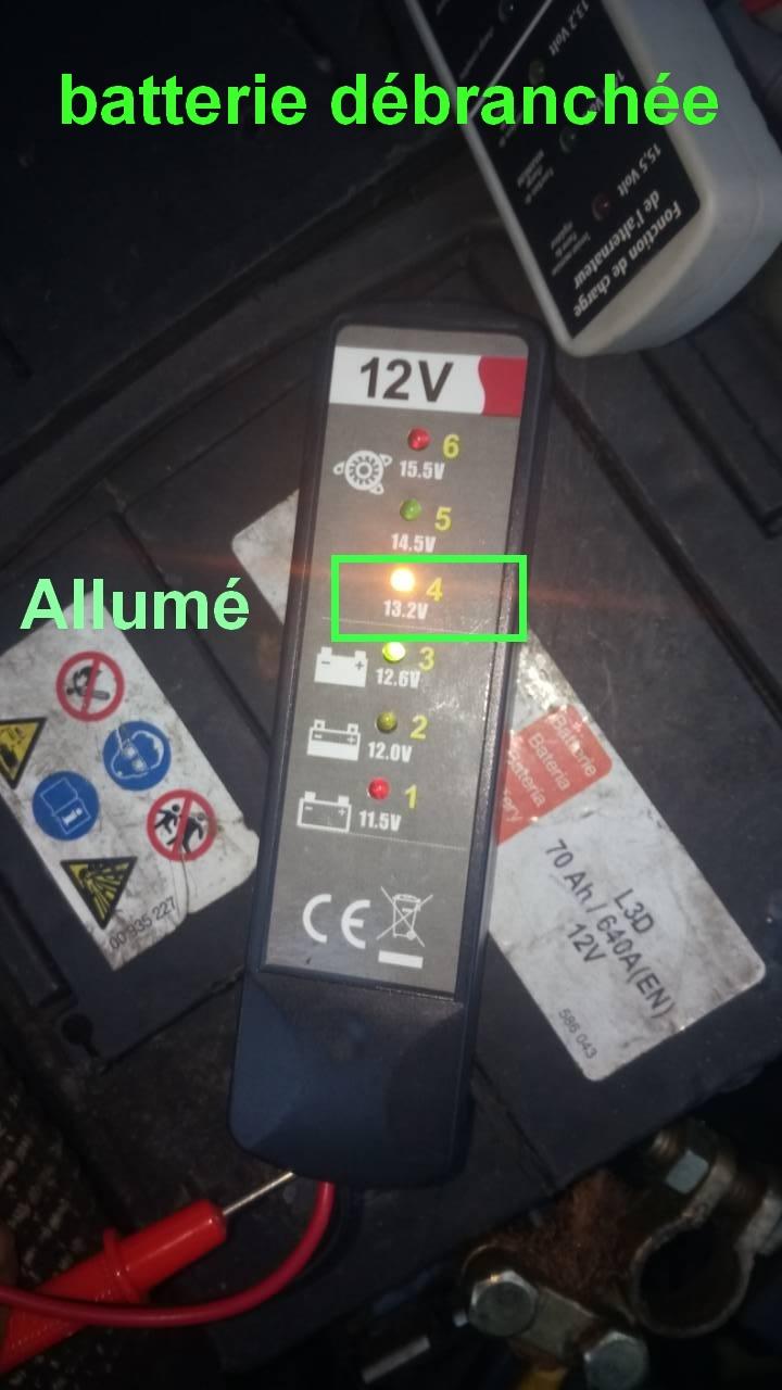 batterie ou alternateur ou testeur 0-02-012