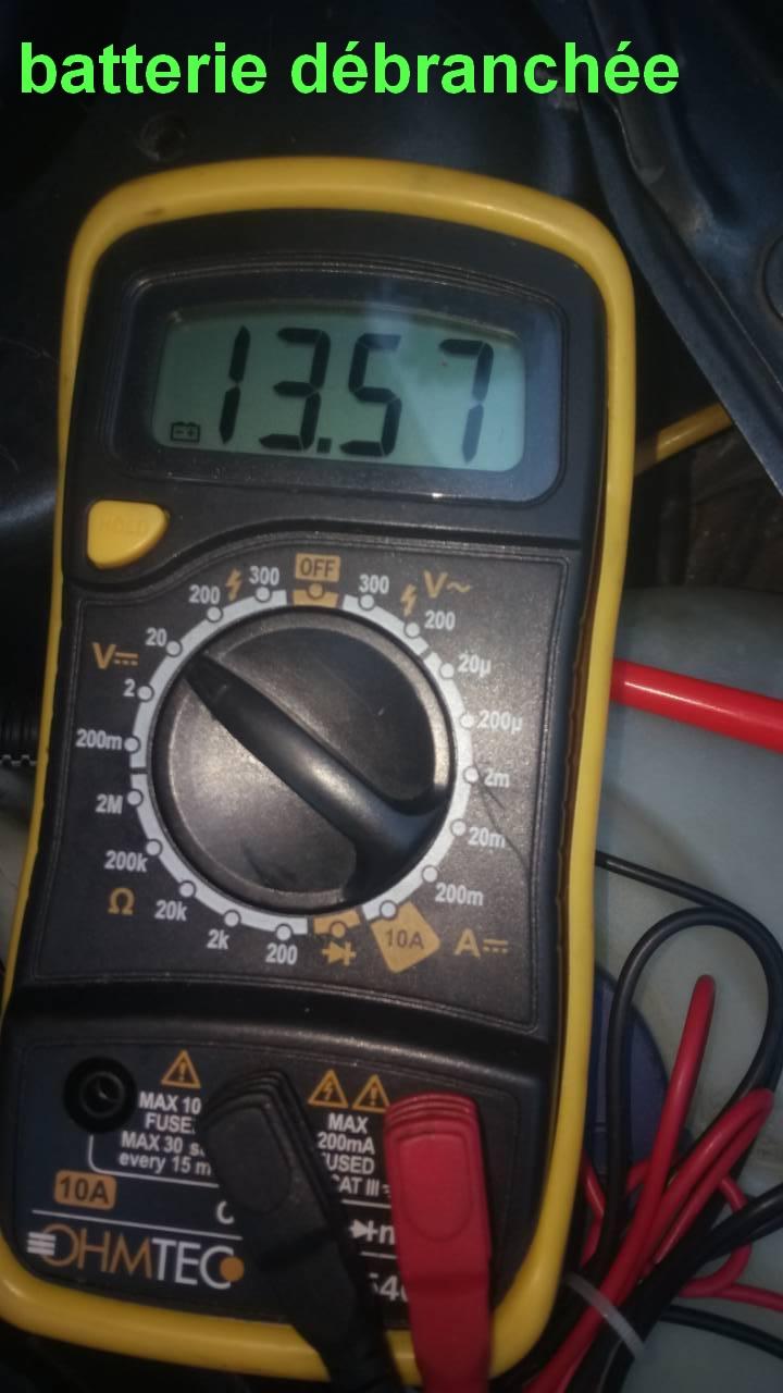 batterie ou alternateur ou testeur 0-02-013
