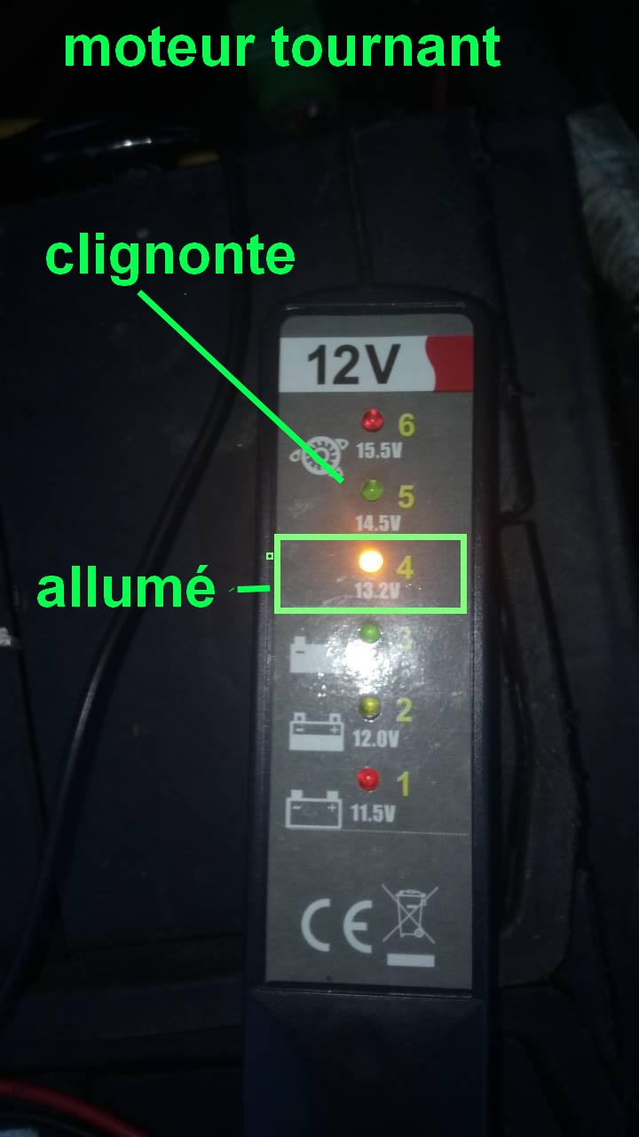 batterie ou alternateur ou testeur 0-02-021