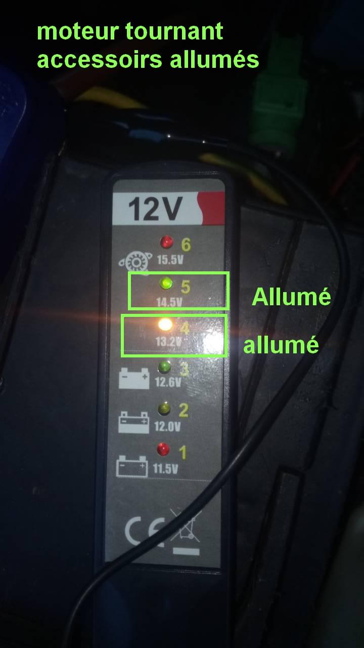 batterie ou alternateur ou testeur 0-02-022
