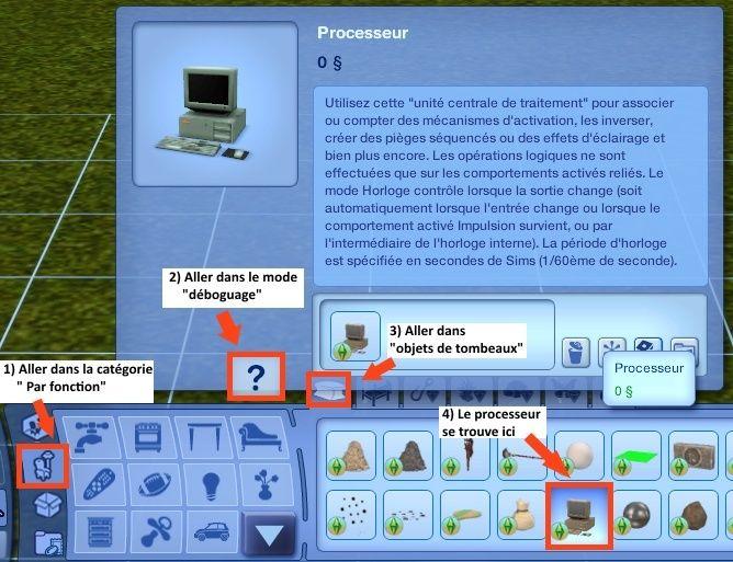 """[Intermédiaire] Tombeaux (DA): programmes simples à avancés à l'aide de l'objet """"Processeur"""" Tuto_s10"""