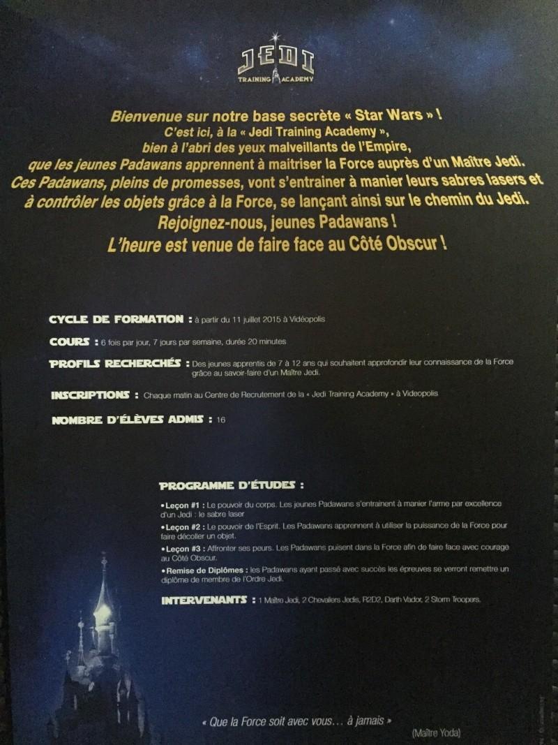 """[Spectacle] """"Jedi Training Academy"""" à Videopolis (depuis le 11 juillet 2015) - Page 7 Img_8710"""