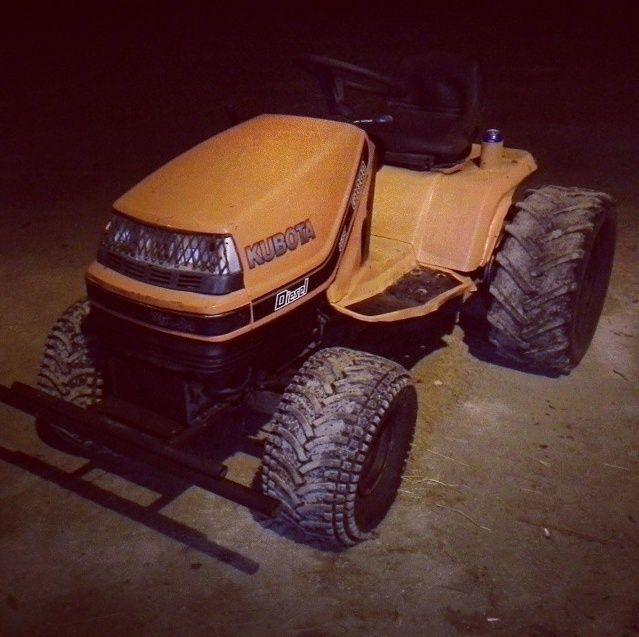 Kubota Utility tractor Ghhrth10