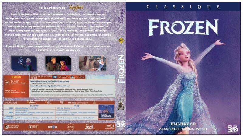 [Règle n°0] Concours de jaquettes Disney amateures -  semaine 1 : LA REINE DES NEIGES Frozen10