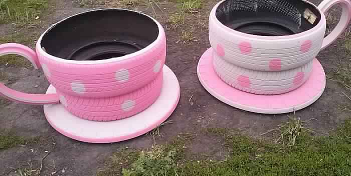 Recycler des pneus. Pneus10